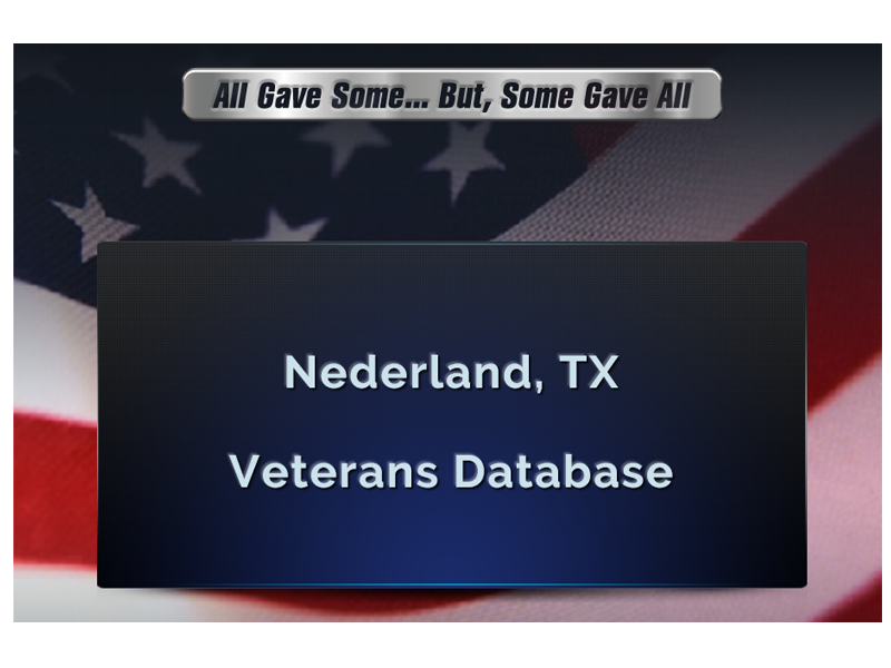 veterans database
