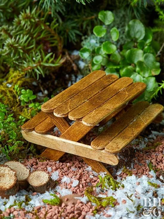 Summer Reading Getting Crafty -- DIY Fairy Picnic Tables (Facebook Live)