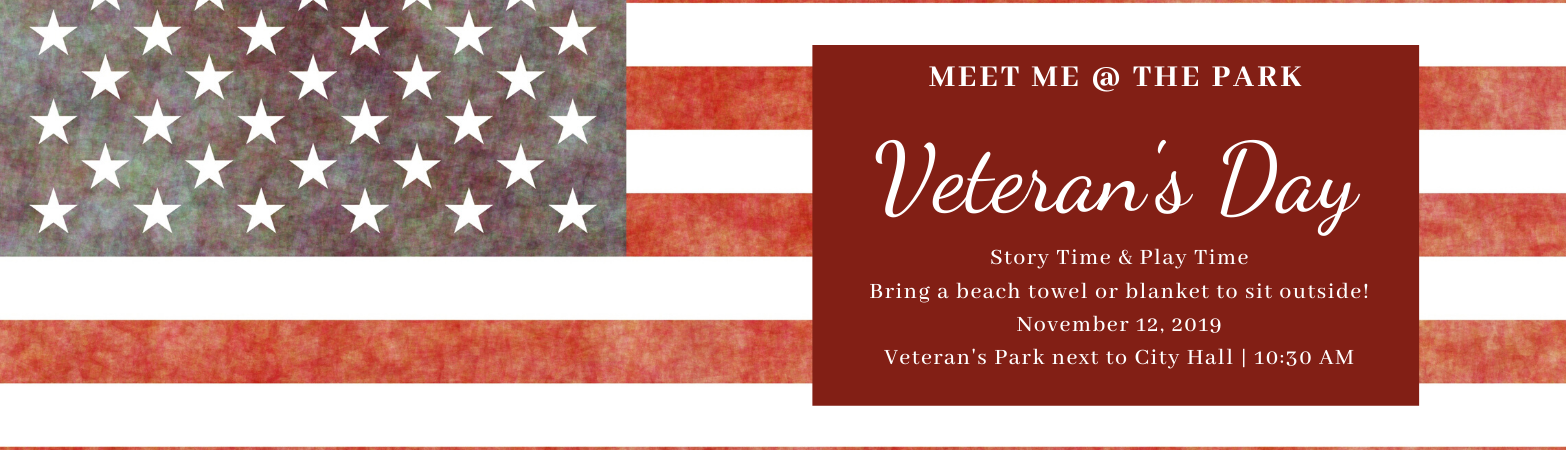 Meet me at the Park Veteran's