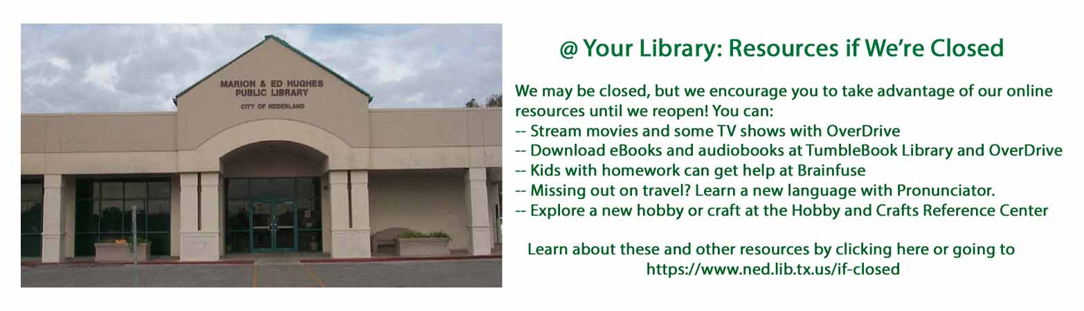 Resources if we're closed