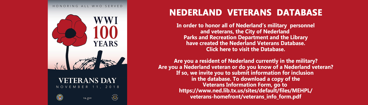 Veterans Day & Database