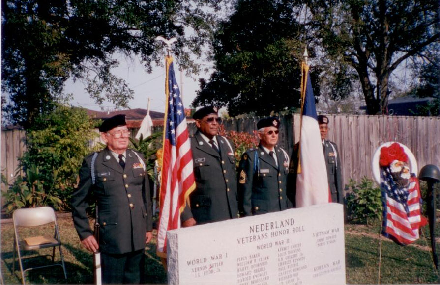 Veterans Memorial 2001 Dedication photo 1